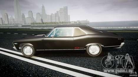 Chevrolet Nova 1969 für GTA 4 linke Ansicht