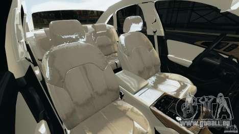 Audi A6 für GTA 4 Innenansicht