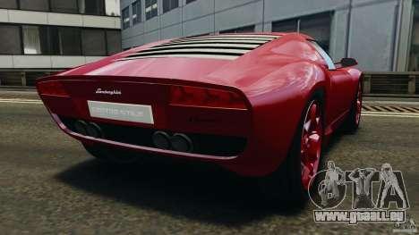 Lamborghini Miura 2006 für GTA 4 hinten links Ansicht