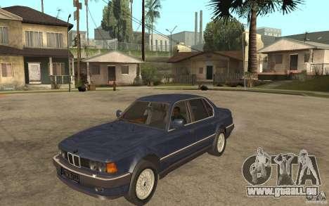 BMW 735Li e32 pour GTA San Andreas