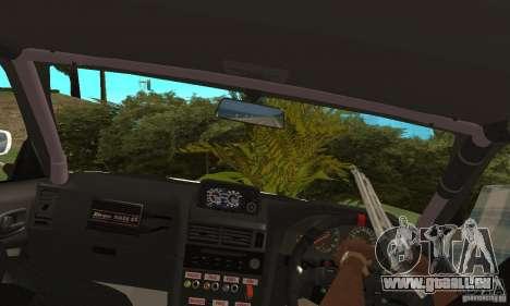 Nissan SkyLine R34 Tunable V2 pour GTA San Andreas vue de droite