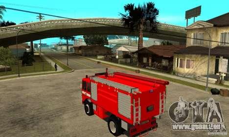 Roman 8135 FA für GTA San Andreas zurück linke Ansicht