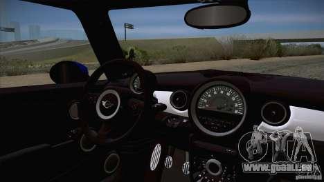 MINI Cooper Clubman JCW 2011 pour GTA San Andreas vue de côté