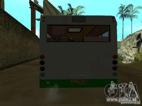 3237 GROOVE (a) für GTA San Andreas Seitenansicht
