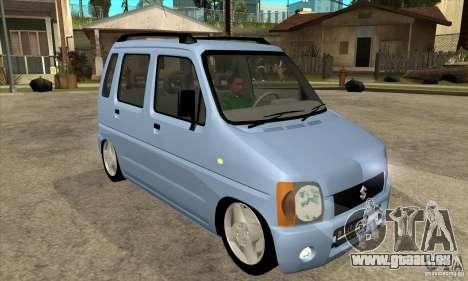Suzuki Karimun GX pour GTA San Andreas vue arrière