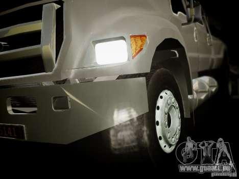 Ford F-650 Super Crewzer für GTA 4 hinten links Ansicht