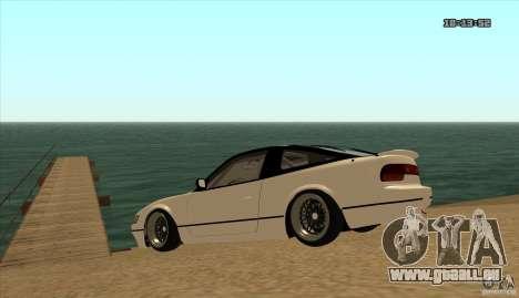 Nissan Sil180 JDM pour GTA San Andreas vue de droite