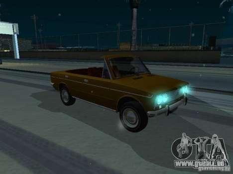VAZ 2103 Convertible pour GTA San Andreas vue de droite