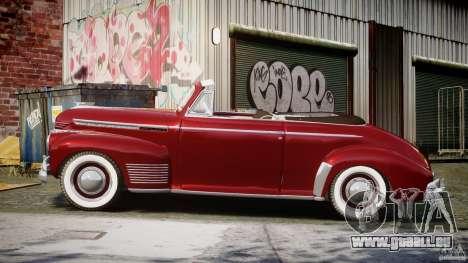 Chevrolet Special DeLuxe 1941 pour GTA 4 est une gauche