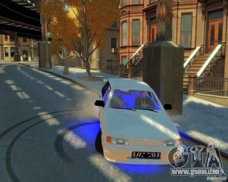 ВАЗ 2114 pour GTA 4 Vue arrière