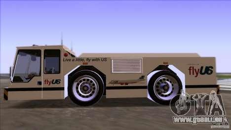 Ripley from GTA IV pour GTA San Andreas sur la vue arrière gauche