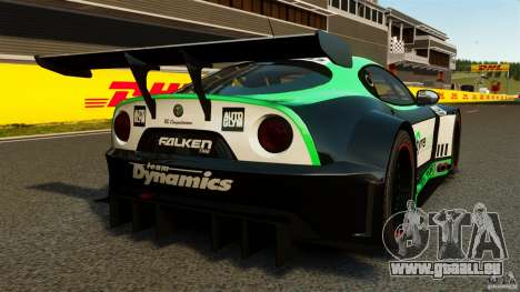 Alfa Romeo 8C Competizione Body Kit 2 pour GTA 4 Vue arrière de la gauche
