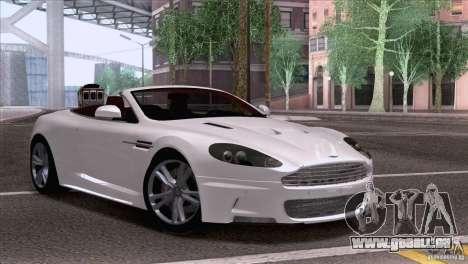 Aston Martin DBS Volante 2009 für GTA San Andreas