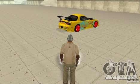 Übernatürliche Fähigkeiten der CJ-ich für GTA San Andreas zweiten Screenshot