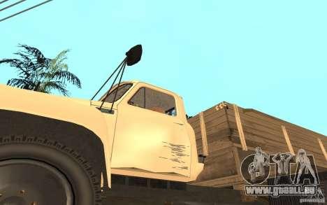 GAZ-52 für GTA San Andreas obere Ansicht