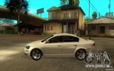 Volkswagen Passat 2.0 TDI Bluemotion 2011 pour GTA San Andreas laissé vue
