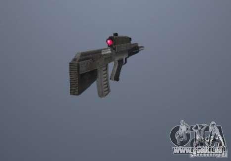 OTS-101 Adder pour GTA San Andreas deuxième écran