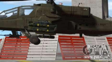 AH-64D Longbow Apache v1.0 pour GTA 4 Vue arrière