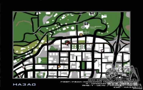 2Fast2Furious Transfender & Pay and Spray pour GTA San Andreas troisième écran