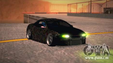 Mitsubishi Eclipse 1997 Drift für GTA San Andreas