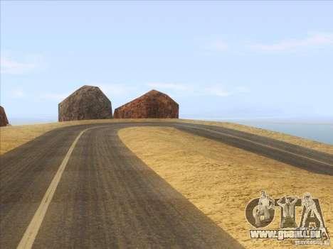 HQ Country Desert v1.3 pour GTA San Andreas troisième écran