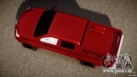 Toyota Hilux 2010 pour GTA 4 est un droit