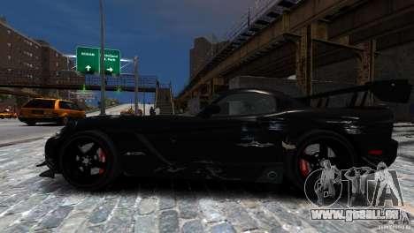 Dodge Viper SRT-10 ACR 2009 pour GTA 4 est un côté