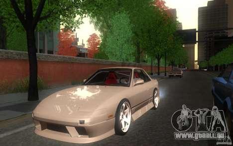 Nissan Silvia S13 Onevia für GTA San Andreas zurück linke Ansicht