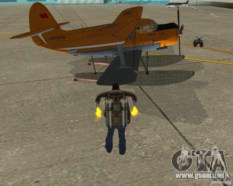 An-2V für GTA San Andreas rechten Ansicht