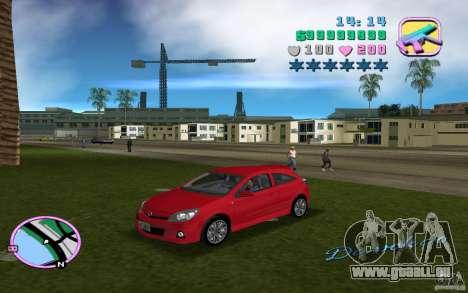 Opel Astra OPC 2006 für GTA Vice City rechten Ansicht