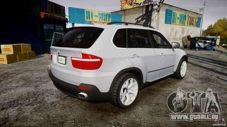 BMW X5 Experience Version 2009 Wheels 214 für GTA 4 obere Ansicht