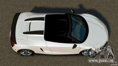 Audi R8 GT Spyder 2012 für GTA 4 rechte Ansicht