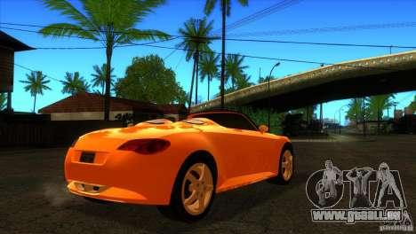 Volkswagen Concept R pour GTA San Andreas vue de droite