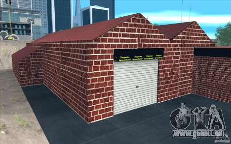 Neue Garage in Dorothy für GTA San Andreas sechsten Screenshot