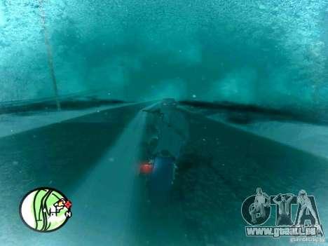 Chute de neige pour GTA San Andreas deuxième écran