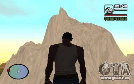Mountain map für GTA San Andreas fünften Screenshot