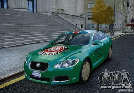 Jaguar XFR 2010 V.2.0 pour GTA 4