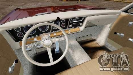 Chevrolet Impala 1967 für GTA 4 obere Ansicht