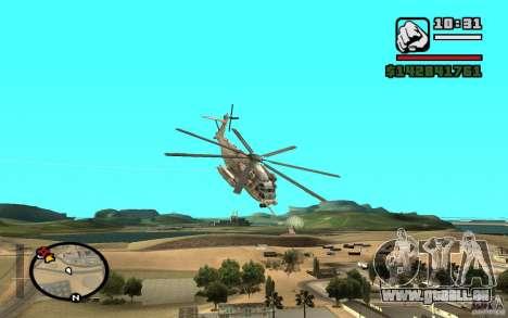 Sikorsky MH-53 mit geschlossenen Luke für GTA San Andreas