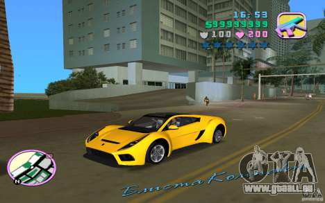 Saleen S5S Raptor für GTA Vice City