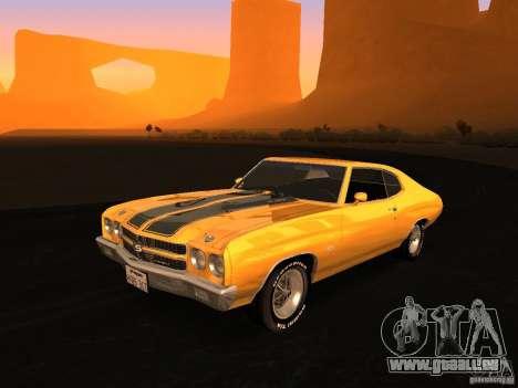 Chevrolet Chevelle SS 1970 v.2.0 pjp1 pour GTA San Andreas