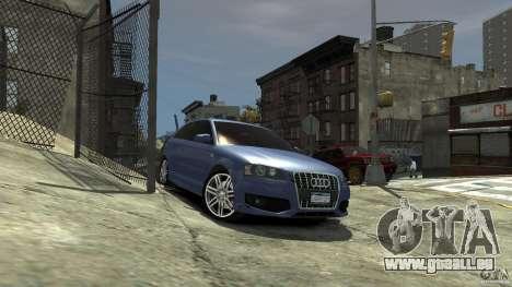 Audi S3 2006 v1. 1 tonirovanaâ für GTA 4 rechte Ansicht
