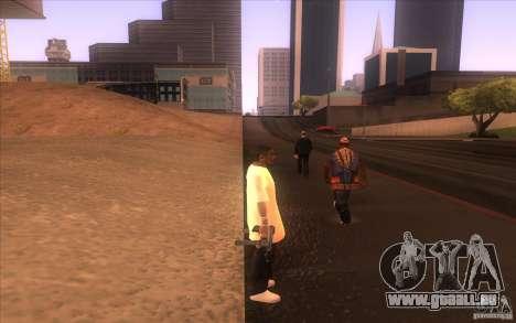 Nouvelle peau pour GTA San Andreas troisième écran