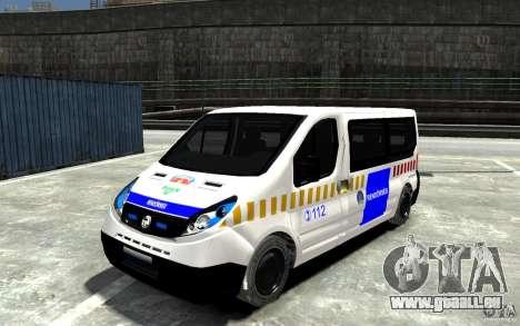 Opel Vivaro Hungarian Police Van pour GTA 4