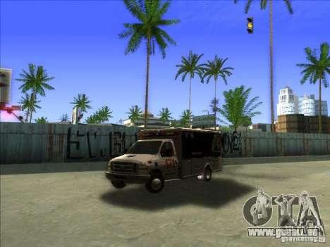 Ford E-350 Ambulance pour GTA San Andreas