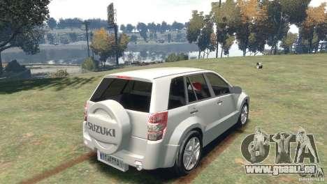 Suzuki Grand Vitara pour GTA 4 est une gauche