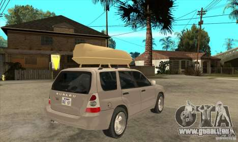 Subaru Forester 2005 für GTA San Andreas rechten Ansicht