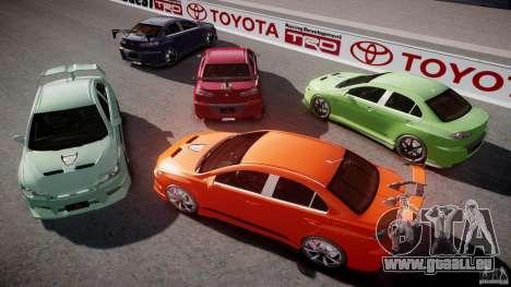 Mitsubishi Lancer Evolution X Tuning pour le moteur de GTA 4