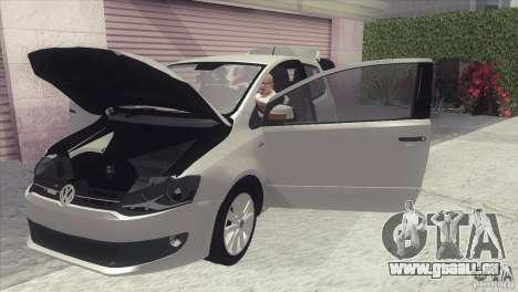 Volkswagen Fox 2013 für GTA San Andreas zurück linke Ansicht