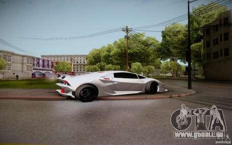 Lamborghini Sesto Elemento pour GTA San Andreas vue de droite